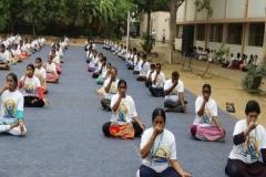CCRS & SCRI Mass Yoga Demonstration