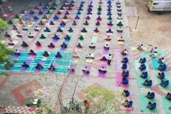 SCRU, Palayamkottai Mass Yoga Demonstration