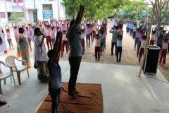 SRRI, Puducherry Mass Yoga Performance