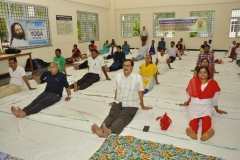 SCRU, Tripathi Yoga Demonstration