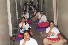 SRRI, Thiruvananthapuram Yoga Demonstration