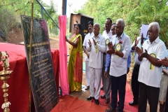 Laying of foundation stone for Silver Jubilee Pillar