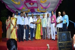 Honoring Dr. M. Padma Sorna Subramanian on his superannuation in SMPG, Mettur