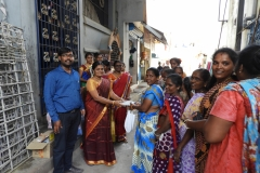 Swachh Bharat Mission activities to create awareness among the residents of Sri Muthumariamman Koil colony (Slum), Aminjikarai, Chennai, Menstrual Hygiene Health Education Campaign is organized by CCRS.